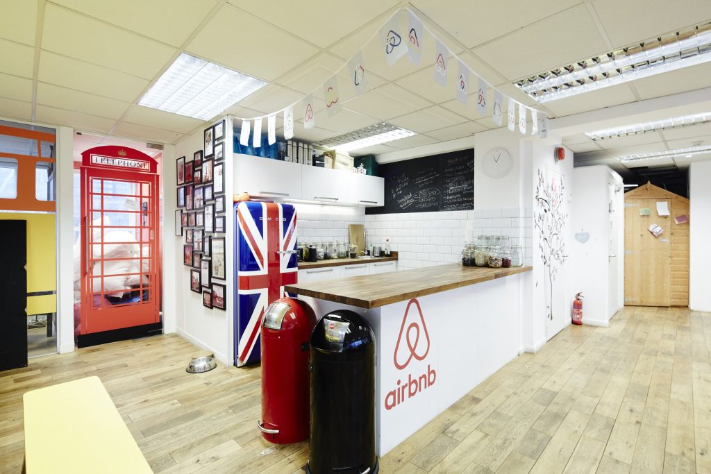 AirBnb Office in London - The Land Collective